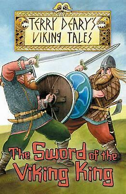 Sword of the Viking King by Terry Deary Paperback Book Free Shipping!