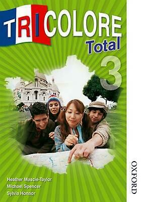 Tricolore Total 3 Student Book by Heather Mascie-taylor (English) Paperback Book