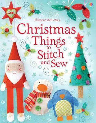 Christmas Things to Stitch and Sew by Fiona Watt (English) Free Shipping!