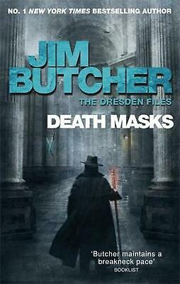 Death Masks: The Dresden Files, Book Five by Jim Butcher (English) Paperback Boo