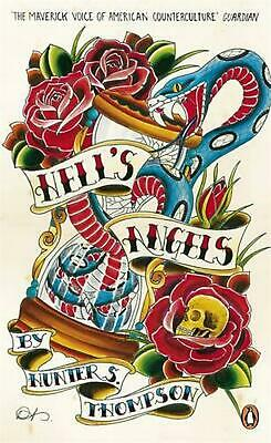 Hell's Angels by Hunter S. Thompson (English) Paperback Book Free Shipping!