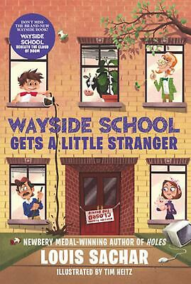 Wayside School Gets a Little Stranger by Louis Sachar (English) Paperback Book F
