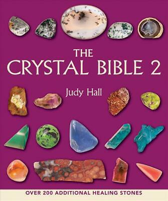 The Crystal Bible, Volume 2 by Judy Hall (English) Paperback Book Free Shipping!