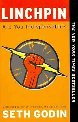 Linchpin: Are You Indispensable? by Seth Godin (English) Paperback Book Free Shi