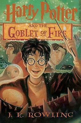 Harry Potter and the Goblet of Fire by J.K. Rowling (English) Hardcover Book Fre
