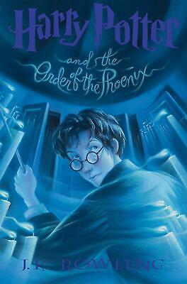 Harry Potter and the Order of the Phoenix by J.K. Rowling (English) Hardcover Bo