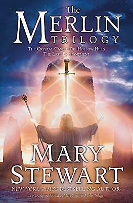The Merlin Trilogy by Mary Stewart (English) Hardcover Book Free Shipping!