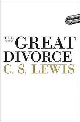 The Great Divorce by C.S. Lewis Hardcover Book (English)