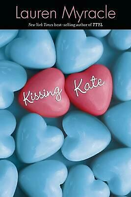 Kissing Kate by Lauren Myracle (English) Paperback Book Free Shipping!