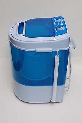 Portable 230V Mini Washing Machine Ideal For Caravan Motorhomes Spin Dryer