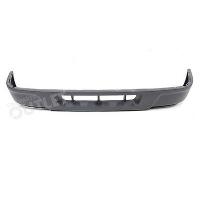 04 05 FORD RANGER XL FRONT BUMPER LOWER VALANCE PANEL TEXTURED GRAY W/O FOG 2WD