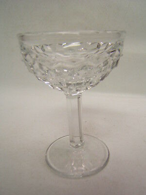 """Fostoria American 4 Footed Goblets 4 7/8"""" Excellent"""