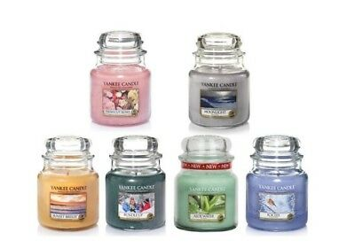 NEW Yankee Candle Medium Jars Scented Candles 30% OFF RRP