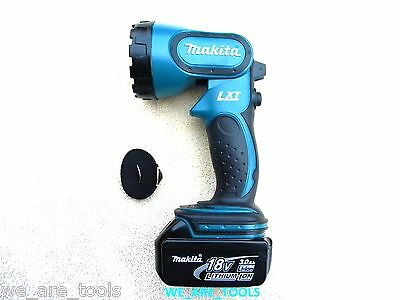 Makita 18V BML185 Cordless Flashlight, (1)  BL1830B 3.0 AH Battery,Lamp, 18 Volt