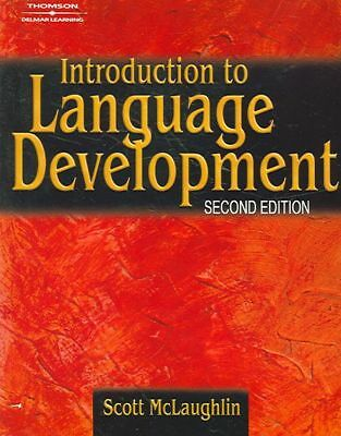 Introduction to Language Development by Scott F. McLaughlin (English) Paperback