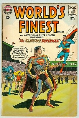 World's Finest #140 March 1964 VG Clayface Superman