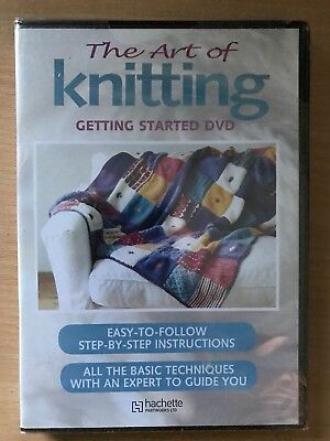 THE ART OF KNITTING - GETTING STARTED ~ Superb Instructional Programme | UK DVD