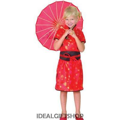China Girl Fancy Dress Costume Chinese New Year Japanese Oriental Childrens Sml