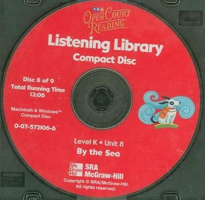 Open Court Reading: Listening Libary Level K Unit 8 Audio CD 8 By the Sea Ocean!