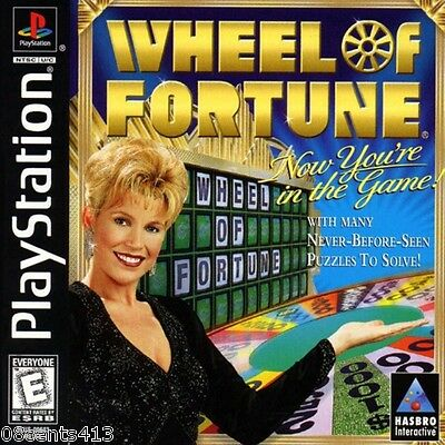 Wheel Of Fortune (PlayStation PS1) 2,000 Puzzles! Do You Want To Buy a Vowel?