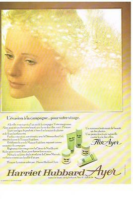 Publicite Advertising 1972 Harriet Hubbard Ayer Cosmétiques Flor Other Breweriana