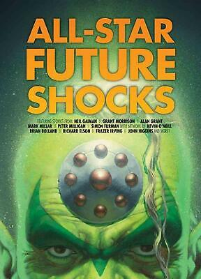 All-Star Future Shocks by Neil Gaiman (English) Paperback Book Free Shipping!