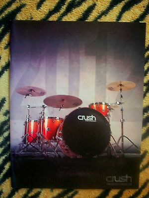 CRUSH DRUMS CATALOG! LIMITED RESERVE MAHOGANY ASH TOUR MAPLE CHAMELEON ALPHA +