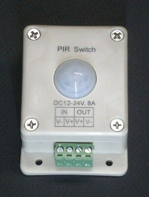 Passive IR Motion Sensor 12V 24V DC control  for LED lighting applications PIR1
