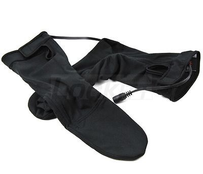 Warm & Safe 12v Powered Heated Socks for Motorcycle ATV Snowmobile