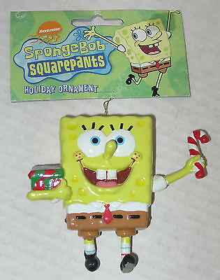 Spongebob Candy Cane Ornament