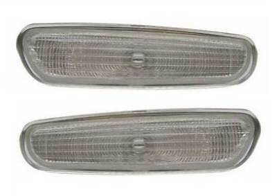 For Volvo S40 1998 - 5/2000 Clear Side Repeaters Indicators 1 Pair