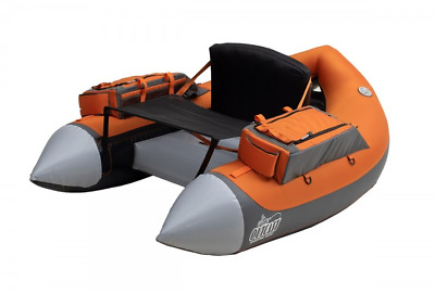 Outcast SUPER FAT CAT Float Tube, Grey/Orange , Low International Shipping Rates