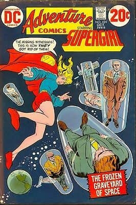 Adventure 424 SUPERGIRL Approval Cover Proof, File Copy Comic ADLER MATCHED PAIR