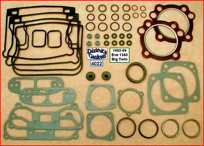 Top End Rebuild Gasket Kit, 92-99 Evo 1340 Beaded Head Gaskets (ref. 17040-92 A)