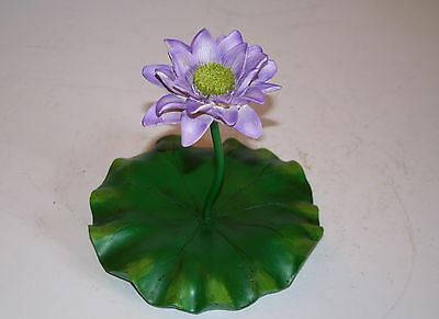 Floating Lily Pad and Blue Lotus Flower for Garden Ponds, Useful Present or Gift
