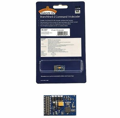 Bachmann 36-557 E-Z Command 4 Function DCC decoder 21 pin Digital Decoder Bk EMF