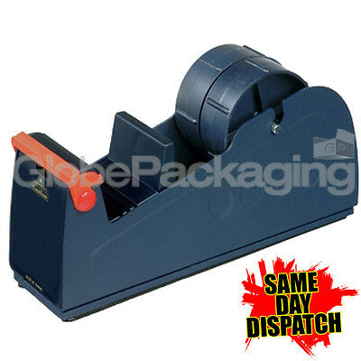 "50mm (2"") METAL BENCH DESKTOP PACKING TAPE DISPENSER"