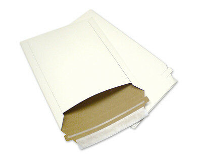50 7X9 Rigid Photo Corrugated Mailers Paper Board  Stay Flats w/ Expedited Ship