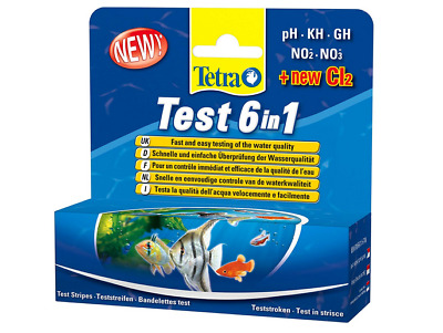 Tetra Test 6In1 Per Acquario Test Qualita' Dell'acqua
