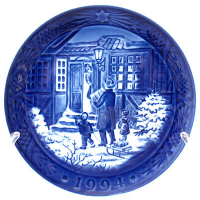 1994 Royal Copenhagen Christmas Plate Christmas Shopping New In Box