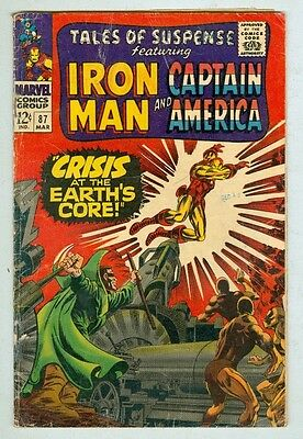Tales of Suspense #87 March 1967 G/VG