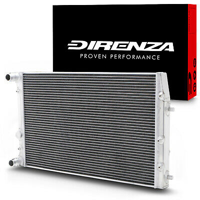 DIRENZA 40mm ALUMINIUM RADIATOR RAD FOR VW FOX POLO 1.2 1.4 1.6 1.9 TDI SDI 01+