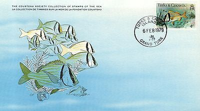 (15504) Porkfish - Cousteau Cover - Turks and Caicos 1979