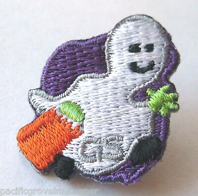 Girl Scout TRICK-OR-TREAT GHOST HALLOWEEN PIN Uniform Jewelry Costume Holiday