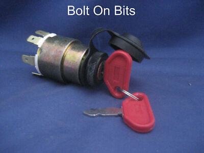 Ignition Key Switch Kit Car/Plant/Digger/Tractor/Truck