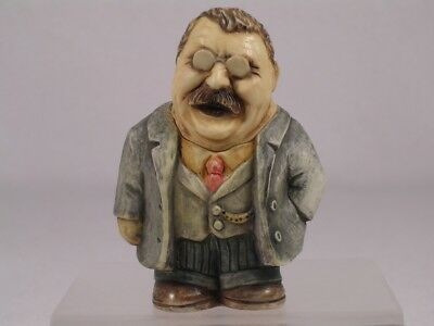 Harmony Kingdom Ball Pot Bellys / Belly 'Theodore-Teddy Roosevelt'  #PBHTR  NIB
