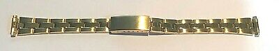 New 'Oyster' LINK Ladies Watchband GP w/straight end-Free Shipping