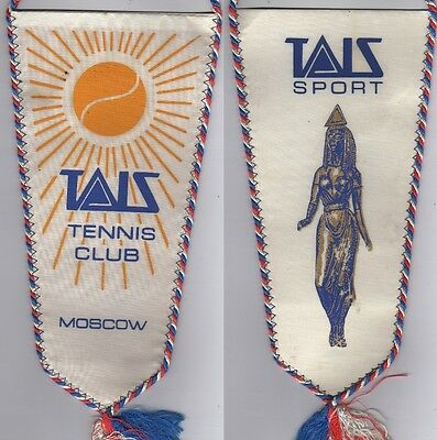 Orig.Wimpel    Tennis Club TAIS MOSKAU / MOSCOW  !!  SEHR SELTEN