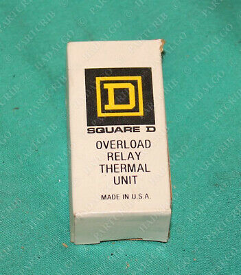 Square D B 6.90 Overload Relay Thermal Unit B690 NEW