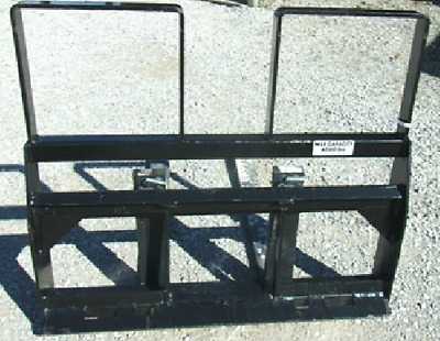 "New SKID STEER LOADER 48"" HD PALLET FORKS fit bobcat..."
